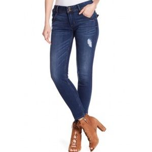 Hudson Collin Skinny Ankle Distressed Jeans
